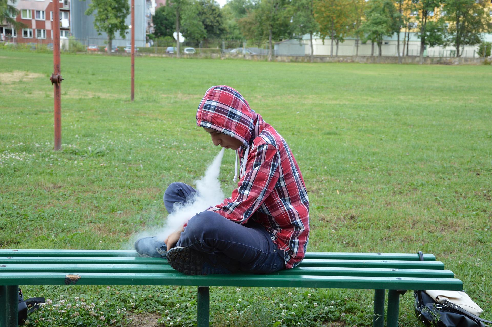Teens Who Use E-Cigarettes