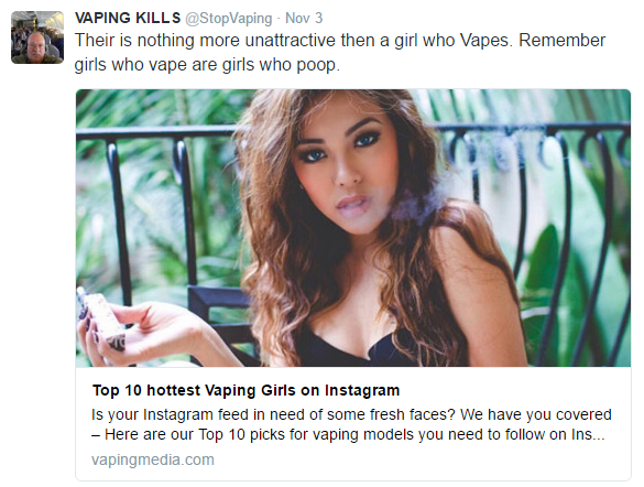 Sexy Girl Slammed for Vaping