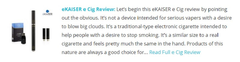 Unfortunately, You Won't Be Able to Get the eKaiser e-Cig on Prescription, But It's Surprisingly Cheap to Buy