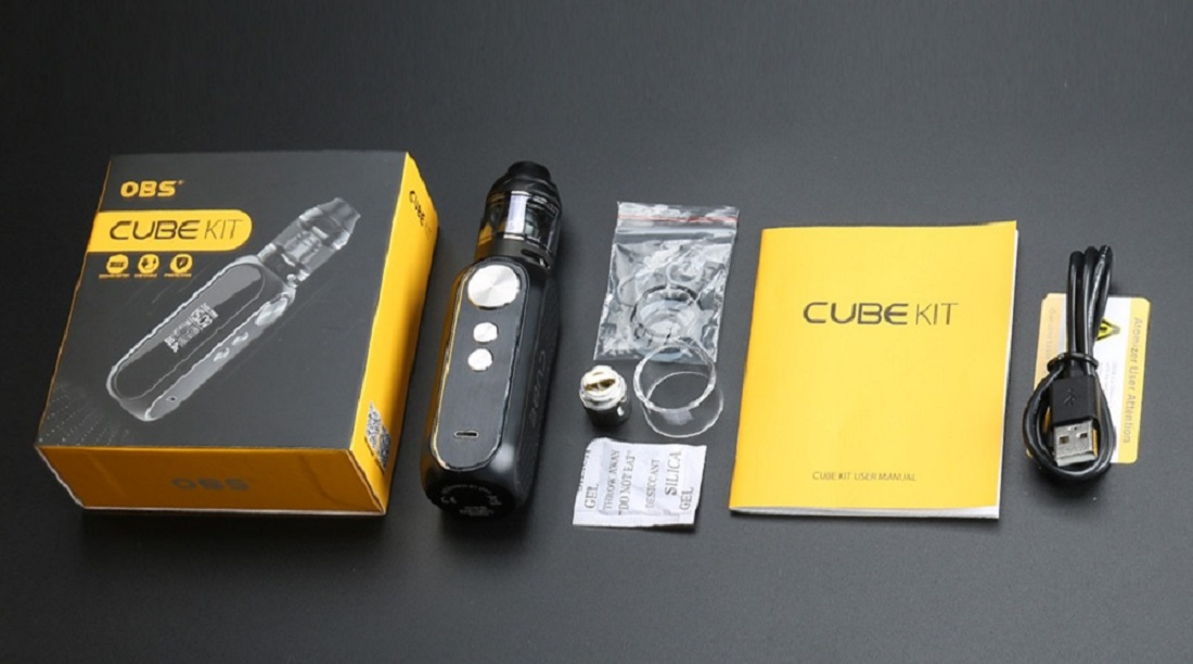 oBS 80W Kit (What You Get In the Box)